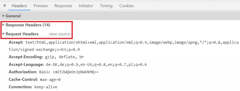 HTTP-Header