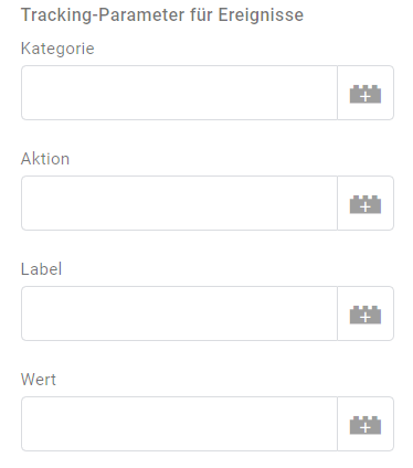 Google Tag Manager Variablen