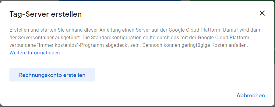 Google Tag Manager Server-seitig