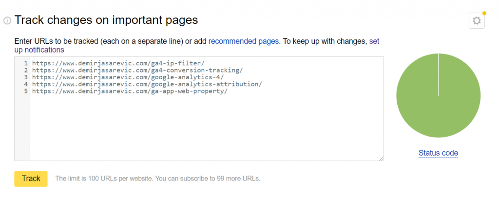 URL-Monitoring